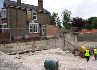 Adjacent Excavation